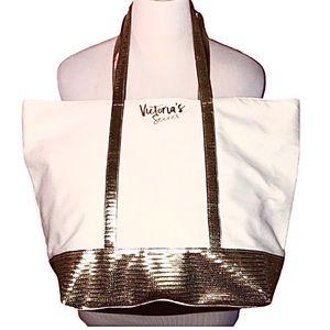 Victoria's Secret Shimmer Sequin Tote